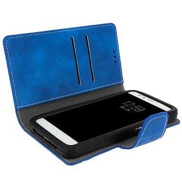 Avis Avizar Etui folio Bleu pour Smartphones de 5.0' à 5.5'