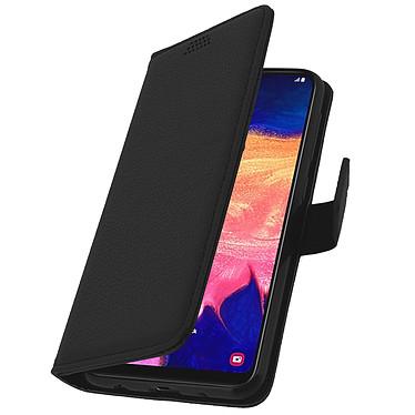 Avizar Etui folio Noir pour Samsung Galaxy A10 pas cher
