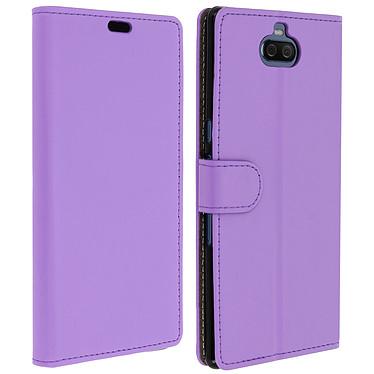 Avizar Etui folio Violet pour Sony Xperia 10 Plus Etui folio Violet Sony Xperia 10 Plus