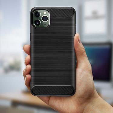 Avis Avizar Coque Noir Finition Carbone pour Apple iPhone 11 Pro