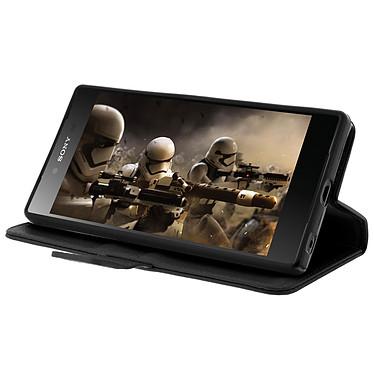 Avis Avizar Etui folio Noir pour Sony Xperia Z5