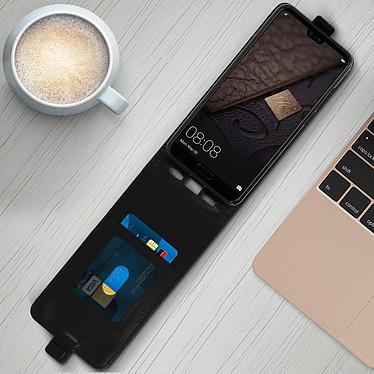 Avis Avizar Etui à clapet Noir pour Huawei P20