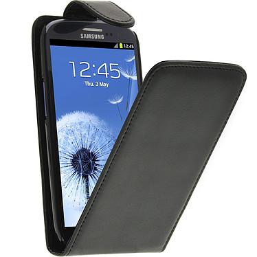 Avizar Etui à clapet Noir pour Samsung Galaxy S3 Etui à clapet Noir Samsung Galaxy S3