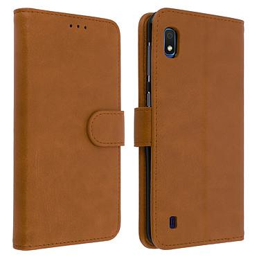 Avizar Etui folio Marron pour Samsung Galaxy A10 Etui folio Marron Samsung Galaxy A10