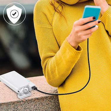 Avis Avizar Chargeur de secours Blanc pour Smartphones et tablettes
