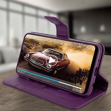 Avis Avizar Etui folio Violet pour Samsung Galaxy A10