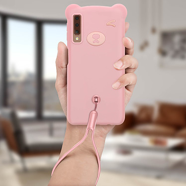 Acheter Avizar Coque Rose pour Samsung Galaxy A7 2018