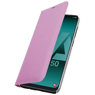 Avizar Etui folio Rose pour Samsung Galaxy A50 , Samsung Galaxy A30s pas cher