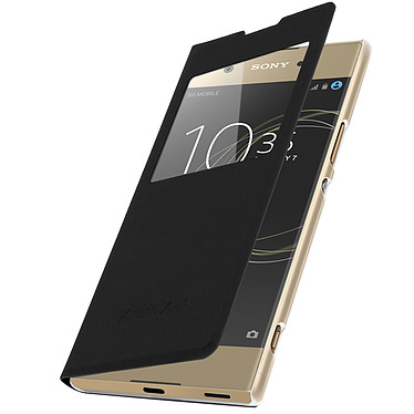 Avizar Etui folio Noir pour Sony Xperia XA1 Etui folio Noir Sony Xperia XA1