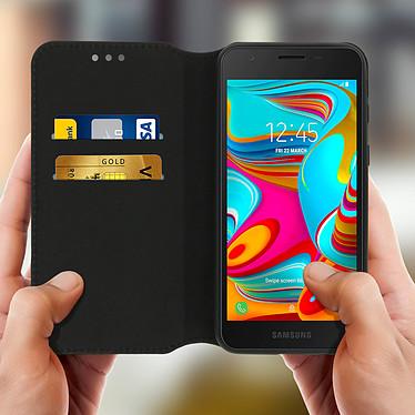 Acheter Avizar Etui folio Noir pour Samsung Galaxy A2 Core