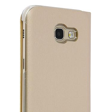 Avis Avizar Etui folio Dorée Éco-cuir pour Samsung Galaxy A5 2017