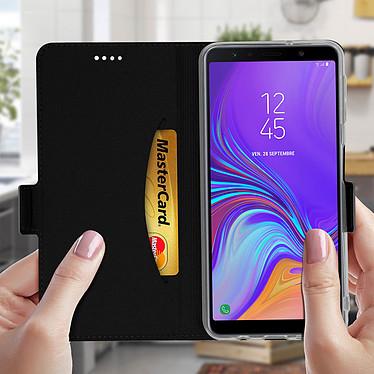 Acheter Avizar Etui folio Noir pour Samsung Galaxy A7 2018