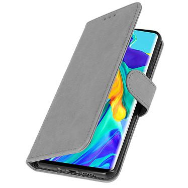 Avizar Etui folio Gris pour Huawei P30 Pro pas cher