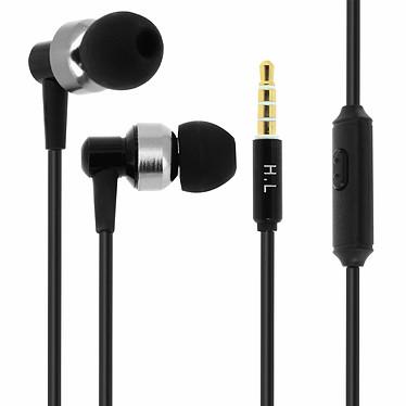 Avizar Ecouteurs Noir pour Tous les appareils munis d'un port Jack 3.5 mm pas cher