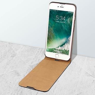 Acheter Avizar Etui à clapet Noir pour Apple iPhone 7 Plus , Apple iPhone 8 Plus