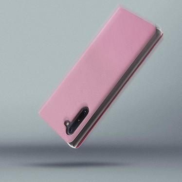 Avis Avizar Etui folio Rose Portefeuille pour Samsung Galaxy Note 10