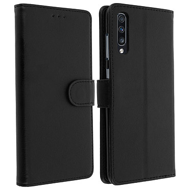 Avizar Etui folio Noir pour Samsung Galaxy A70 Etui folio Noir Samsung Galaxy A70