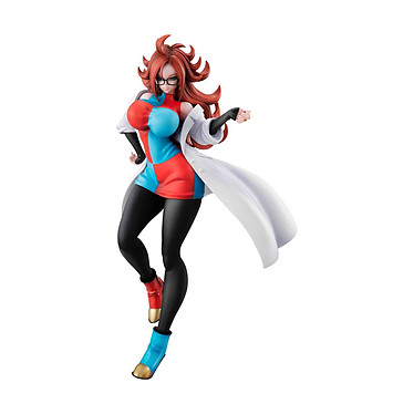 Dragon Ball Gals - Statuette Android 21 21 cm Statuette Dragon Ball Gals, modèle Android 21, taille 21 cm.