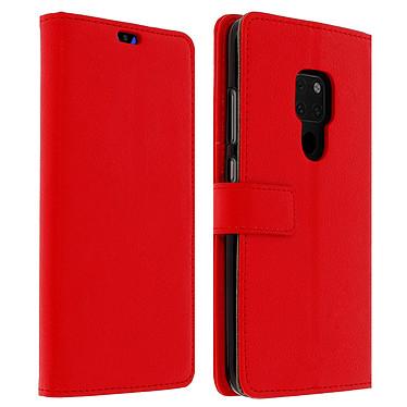 Avizar Etui folio Rouge Porte-Carte pour Huawei Mate 20 Etui folio Rouge avec porte-carte Huawei Mate 20