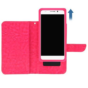 Avis Avizar Etui folio Fuchsia pour Smartphones de 5.0' à 5.3'