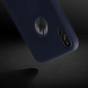 Avis Avizar Coque Bleu Nuit Semi-Rigide pour Apple iPhone X , Apple iPhone XS