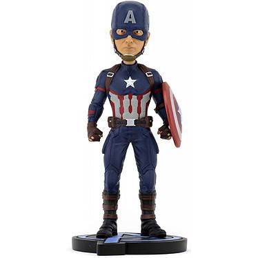 Avengers: Endgame - Figurine Head Knocker Captain America 20 cm Figurine Head Knocker Avengers: Endgame, modèle Captain America 20 cm.