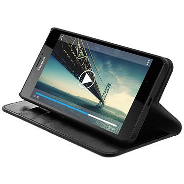 Avis Avizar Etui folio Noir pour Microsoft Lumia 950 , Nokia Lumia 950