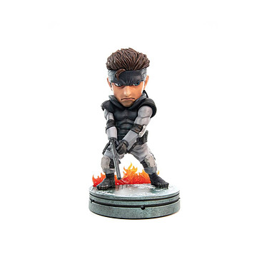 Metal Gear Solid - Statuette SD Solid Snake 20 cm Statuette Metal Gear Solid, modèle SD Solid Snake 20 cm.