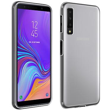 Avizar Coque Blanc pour Samsung Galaxy A7 2018 Coque Blanc Samsung Galaxy A7 2018