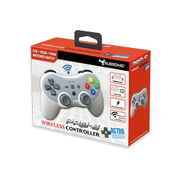 Avis Subsonic Pro S wireless controller 90s pour nintendo Switch