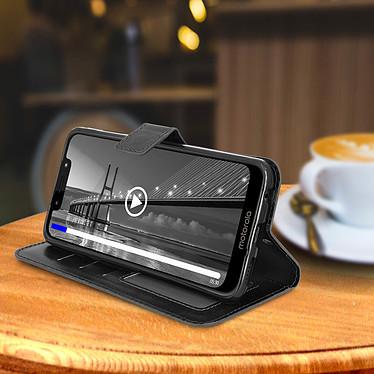 Avis Avizar Etui folio Noir pour Motorola Moto G7 , Motorola Moto G7 Plus