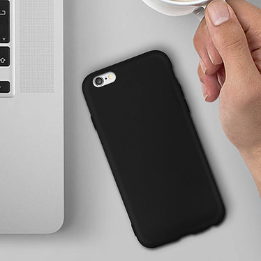 Avizar Coque Noir pour Apple iPhone 6 , Apple iPhone 6S pas cher