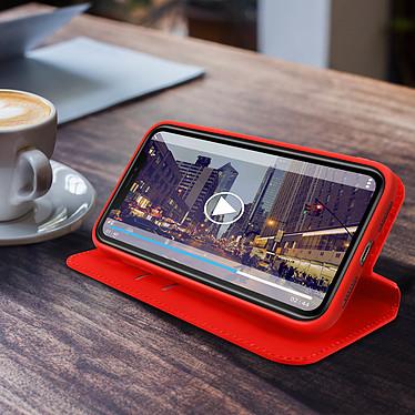 Avis Avizar Etui folio Rouge Éco-cuir pour Apple iPhone 11