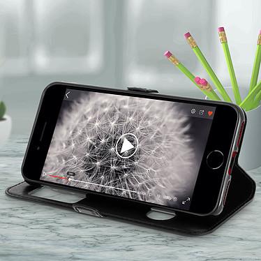 Avis Avizar Etui folio Noir pour Apple iPhone 7 , Apple iPhone 8 , Apple iPhone SE 2020