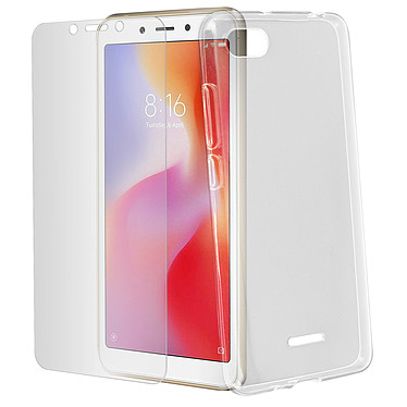 Avizar Pack protection Transparent pour Xiaomi Redmi 6A pas cher