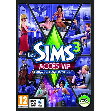 Les Sims 3 Acces VIP (PC) Jeu PC Gestion 12 ans et plus