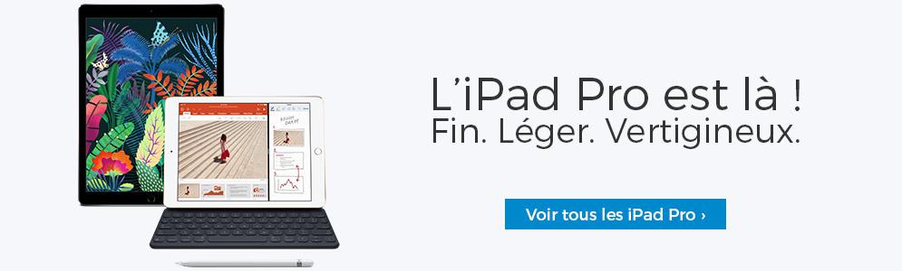 L'iPad Pro est là - Fin. Léger. Vertigineux