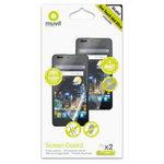 Film protecteur téléphone Muvit sans Compatible iPhone