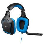 Micro-casque gamer Couleur Bleu