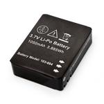 Accessoires caméra sportive Type d'accessoire Batterie