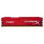 Mémoire PC HyperX radiateur Rouge