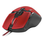 Souris PC Speed Link Couleur Rouge