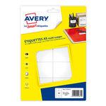 Etiquette Avery Type de produit Organisation et classement