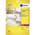 Etiquette Avery Format étiquette 63.5 x 33.9 mm