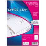 Etiquette Office Star Type d'impression Jet d'encre