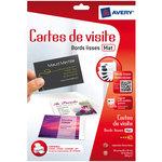 Porte carte de visite Avery Type de produit Carte de visite
