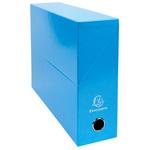 Boîte à archives Exacompta Couleur Bleu