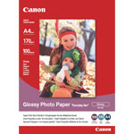 """Canon GP-501 - Papier Photo Glacé """"usage économique"""" A4 (100 feuilles), 210 g"""