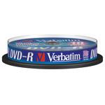 Verbatim DVD-R 4.7 Go certifié 16x (pack de 10, spindle)