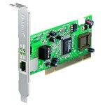 Carte PCI Gigabit cuivre 10/100/1000 Mbps